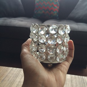 """Clear Crystal 18 3"""" Tealight Holders Votive/Candle"""