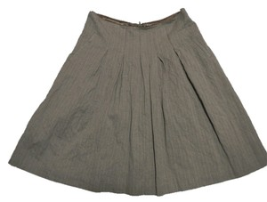 CAbi Skirt Beige and Brown