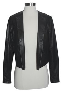 Vince Leather Scuba Leather Jacket