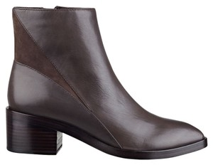 Sigerson Morrison Leather Suede Brown Charcoal Boots