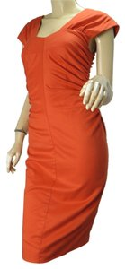 Robert Rodriguez Bodycon Sweetheart Woven Dress
