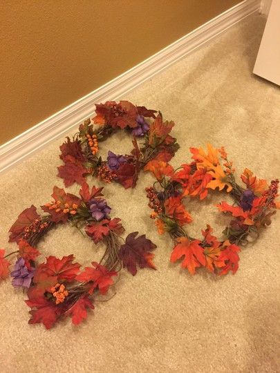 Fall Colors Leaves Centerpiece