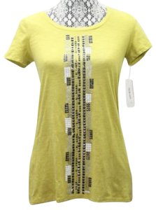 Style & Co & Co. Cotton Petite Top CHARTREUSE
