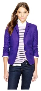 J.Crew School Boy Jacket Brilliant Purple Blazer