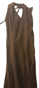 Brown Maxi Dress by DKNY