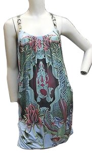 Christian Audigier short dress Printed Stretchy Racerback on Tradesy