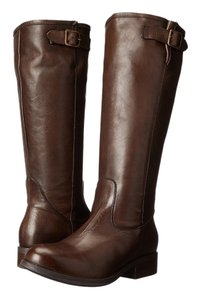Gabriella Rocha Brown Vintage Leather Boots