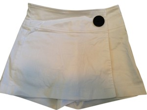 Cache Mini Skirt White