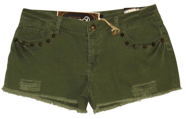 Other Cut Off Shorts Green