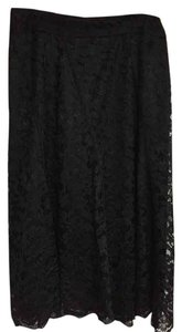 Nine West Lace Skirt Black