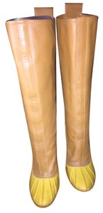 Casadei Tan/yellow Boots