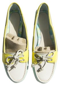 Sperry Loafers Boat 9 Turquoise / White / Aqua Athletic