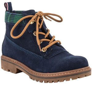 Tommy Hilfiger Hiker Timberland Snow Winter Navy blue Boots