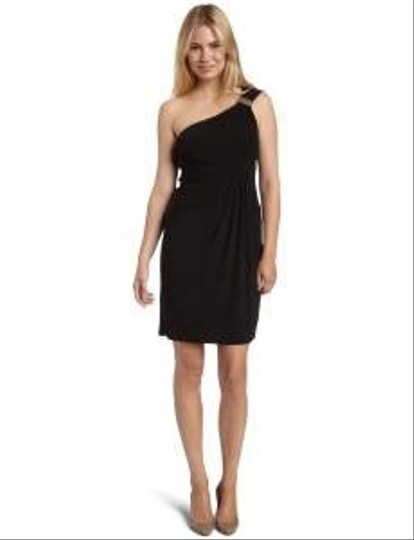 Laundry by Shelli Segal Black Other 99r24403 Modern Bridesmaid/Mob Dress Size 8 (M)