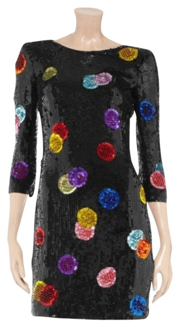 Preload https://img-static.tradesy.com/item/707921/dolce-and-gabbana-multicolor-sequin-polka-dot-short-night-out-dress-size-4-s-0-0-650-650.jpg