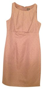 Taylor Gold Sheath Dress
