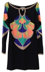 Temperley London short dress Black/Multi on Tradesy
