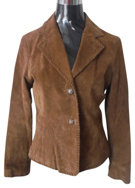 Wilsons Leather Western Boho Hippie Vintage Leather Leather Jacket