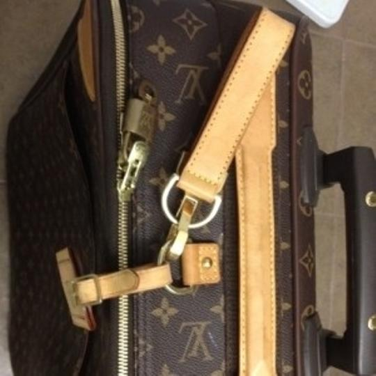 Louis Vuitton Brown/classic monogram Travel Bag