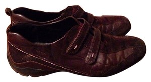 Ecco Leather Brown Athletic