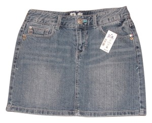 Aropostale Jean Kids Girls Clothes Mini Mini Skirt Denim