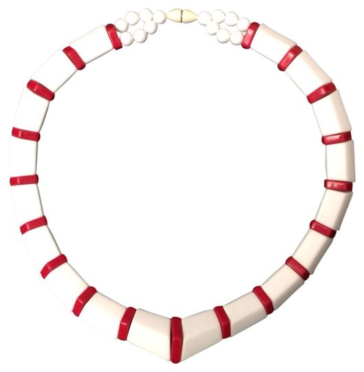 Preload https://item1.tradesy.com/images/red-and-white-necklace-708120-0-0.jpg?width=440&height=440