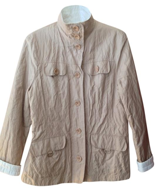 Gerry Weber Reversible Beige reverses to white Jacket