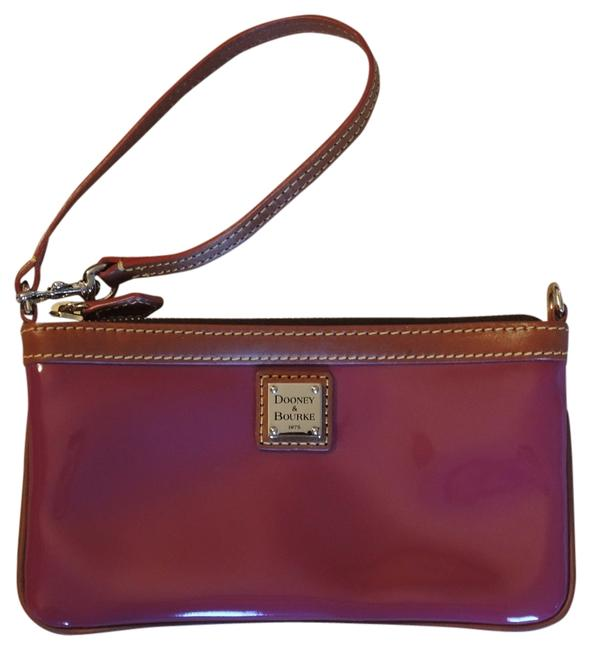 Item - Gold Hardware Brown Small Purse Pink Patent Leather Wristlet