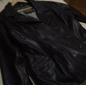 American Base Brown Leather Jacket