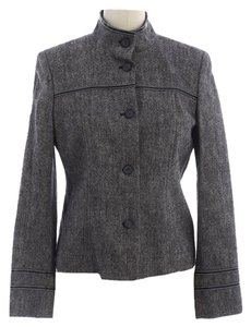 Michael Kors #kors #michaelkors #woolblend Grey tweed Jacket