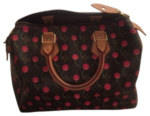 Louis Vuitton Satchel in Limited Edition Cerises Cherry Speedy 25. Made in France. SP0045