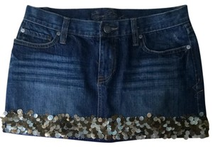 Abercrombie & Fitch Skirt Medium Wash