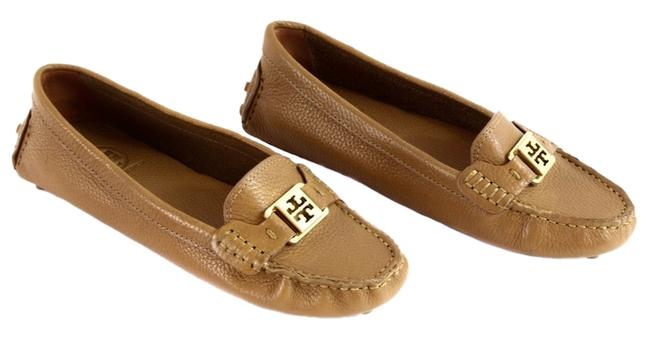 Item - Brown Kendrick Tumbled Leather Loafers Flats Size US 9.5 Regular (M, B)