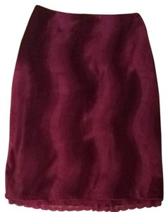 Henne's Collection Skirt Burgundy