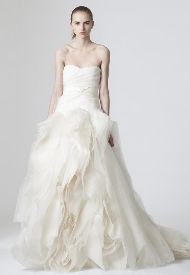 Vera Wang Diana Tulle Wedding Dress Size 0 (XS) - Tradesy