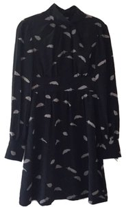 Tibi Silk Long Sleeves Dress