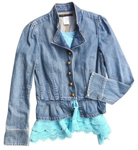 Marc by Marc Jacobs #marcbymarcjacobs #marcjacobs #denimjacket #peplum Denim Womens Jean Jacket