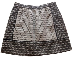 J.Crew Brand New Mini Skirt Black / white
