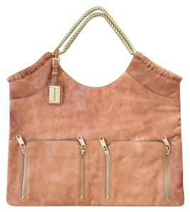 Alexis Hudson Tote in Cognac Brown