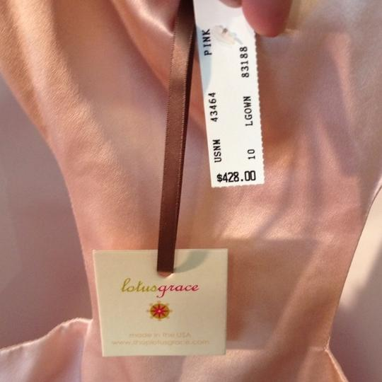 Soft/light Pink Nwt Authentic Lotus Grace Size 10 And 4 Dress