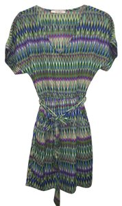 Francesca's short dress Multi-color Green on Tradesy