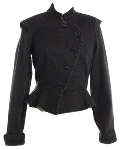 Juicy Couture charcoal Womens Jean Jacket