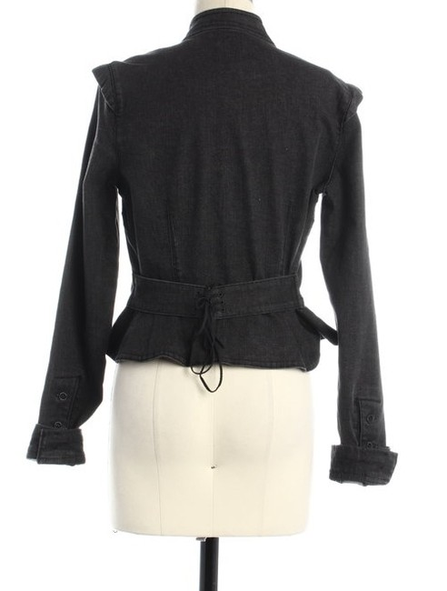 Juicy Couture #croppedjacket charcoal Womens Jean Jacket