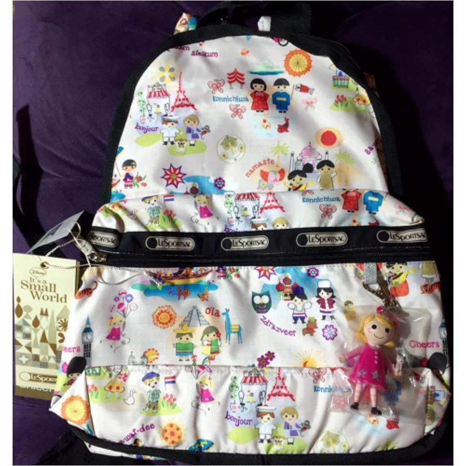 0c9a22ae2fe LeSportsac Around The World  Disney It s A Small World Backpack ...