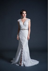 Kari Chang Eternal Kari Chang Eternal Kcw1574 Lace Cap Sleeve Wedding Dress