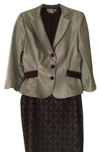 Kay Unger Kay Unger Silk Two Piece Suit