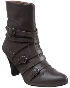 Ballasox by Corso Como Leather Pointed Toe Grey Boots