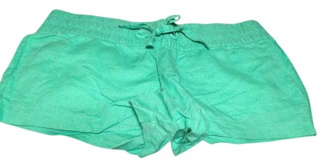 Mossimo Supply Co. Target Linen Mini/Short Shorts Teal