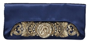 Alberta Ferretti Buy One Get One Free Navy Clutch