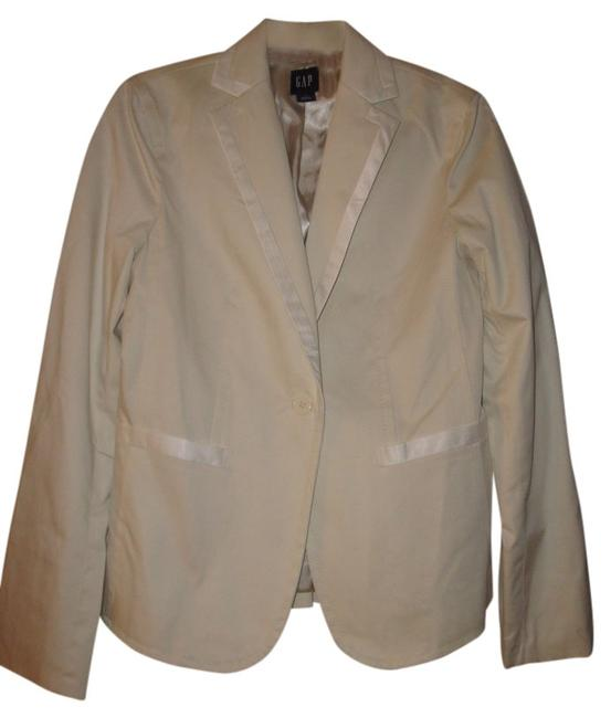 Gap Suit jacket with satin trim